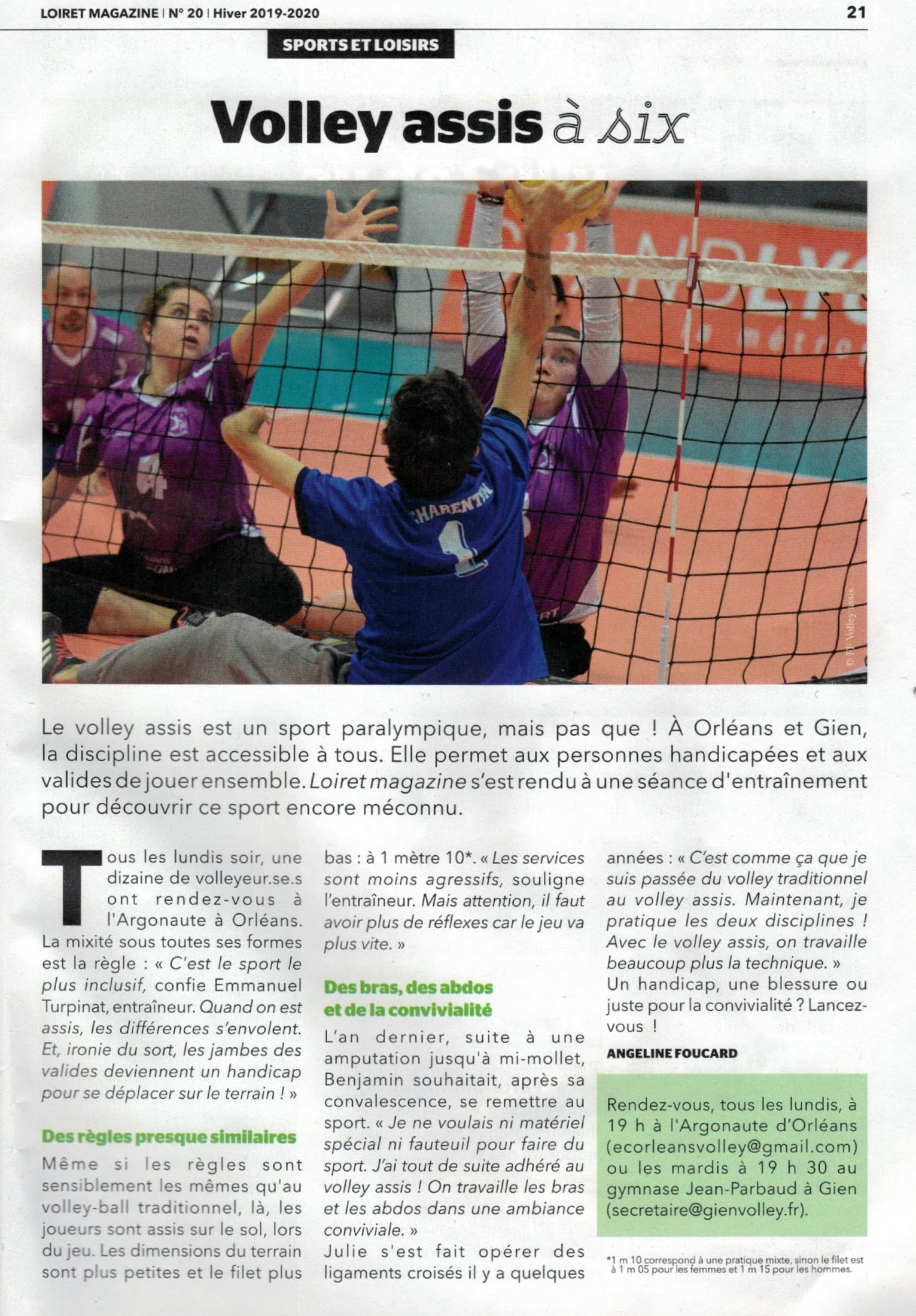 Volley Assis Article