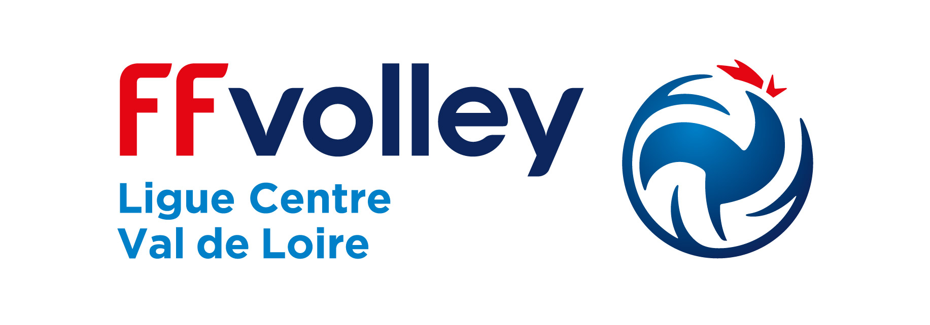 Logo Ligue du Centre Val de Loire de Volley Ball 17 18